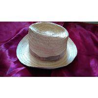 Ретро шляпа мужская пляжная СССР, новая, этикетка