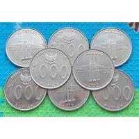 Индонезия 1000 рупий. Инвестируй в монеты планеты!