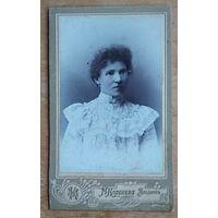 Фото женщины. 1904 г.  Владимир. 6.5х11 см.