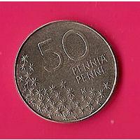 38-16 Финляндия, 50 пенни 1991 г.