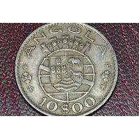 Ангола 10 эскудо 1969