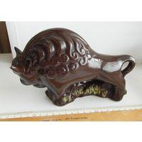Статуэтка Зубр, керамика