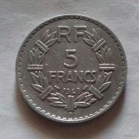 5 франков, Франция 1949 В