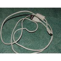 Кабель USB  на Mini USB с феритовым фильтром для геймпада PS4 и телефонов