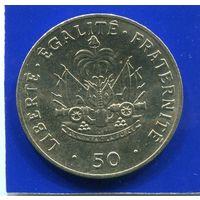 Гаити 50 сантимов 1991 , UNC