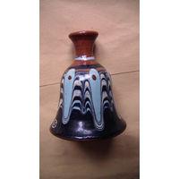 Керамический колокольчик Болгария. распродажа
