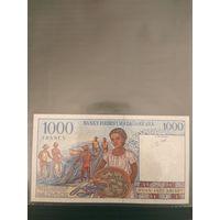 Мадагаскар 1000 франков (UNC)
