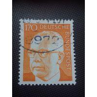 ФРГ. Г.Хайнеман. 1972г. гашеная