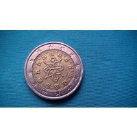 Португалия 2 евро 2002г.   распродажа