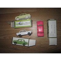 Машинки СССР . 3 штуки одним лотом