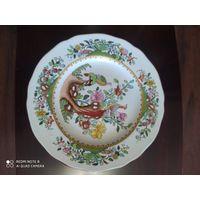 Фарфоровая тарелка .19 век. Королевская мануфактура Spode.