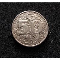 Турция, 50000 лир 1998