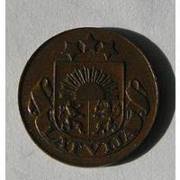 Латвия, 1 Сантим 1935 (1)