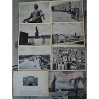 Открытки СССР. Пискаревское мемориальное кладбище-музей.1936г.