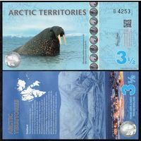 Арктические Территории - $3.5 2014 г, UNC   распродажа