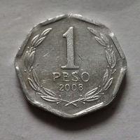 1 песо, Чили 2008 г.