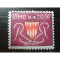 Монако 1954 Герб* 50с