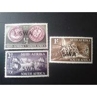 Юго-Западная Африка 1952 надпечатка на марках ЮАР