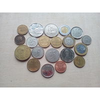 Лот монет Америки (Гватемала, Мексика, Эквадор и т.д.) - с 10 копеек!