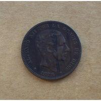 Испания, Альфонсо XII (1874-1885), 10 сентимо 1879 г.