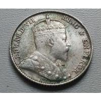 Стрейтс Сетлментс 5 центов 1910 г.