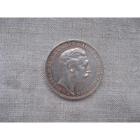 Германия: 3 марки серебро 1912 год Пруссия Вильгельм II  от 1 рубля без МЦ