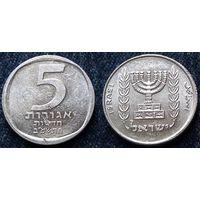 W: Израиль, 5 новых агорот 1982, Краузе КМ#107 (548)