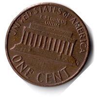США. 1 цент. 1981 D