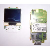 Телефон Siemens SL55 внутренности плата.