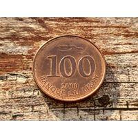 Ливан. 100 ливров 2000.
