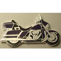 "Сомали. 1 доллар 2007 год  X#53  ""Мотоциклы - Blue Thunder"""
