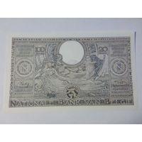Бельгия 100 франков (20бельгас) 1943 год состояние UNC