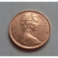 1 цент, Австралия 1966 г.