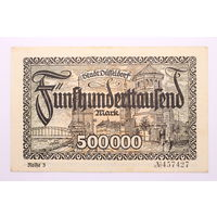 Германия (Dusseldorf), 500 000 марок 1923 год