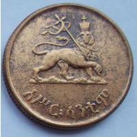 Эфиопия 10 центов 1936