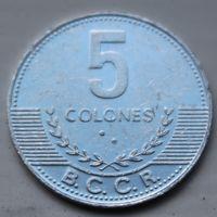 Коста-Рика, 5 колон 2008 г