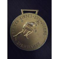 Медаль спортивная ГДР #2