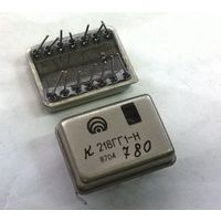 К218ГГ1-Н. Автоколебательный мультивибратор (до 250 кГц). К218ГГ К218 218ГГ1 218ГГ. Аналог 2ГФ181