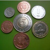 Босния и Герцеговина набор 7 монет (5-10-20-50 фенингов, 1-2-5 марок) UNC