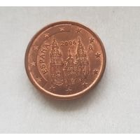 1 евроцент 2006 Испания