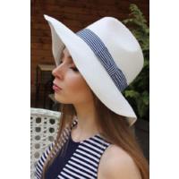 Шляпа 100% straw (соломенная), р.57
