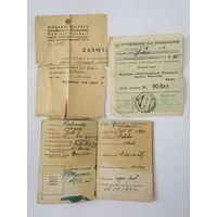 Военный билет. Войско Польское. И ещё полтора документа. Одним лотом.