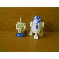 Фигурки джедай Оби-Ван Кеноби (Jedi Obi-Wan Kenobi) и R2-D2 (Р2-Д2) Звездные войны (Star Wars). (возможен обмен)