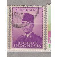 Президент Сукарно Индонезия 1951 год лот 1012