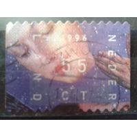 Нидерланды 1996 Новогодняя марка