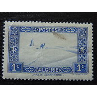 Французский Алжир 1936 г. Пустыня Сахара.