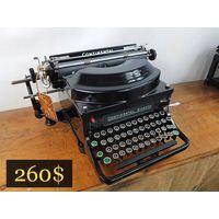 Печатная машинка / Typewriter Continental Silenta Buromaschinen