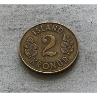 Исландия 2 кроны 1962