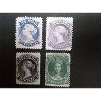 Британская колония Nova Scotia.1860г. Возможна продажа по отдельности.
