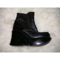 Ботинки кожанные , 36 размер